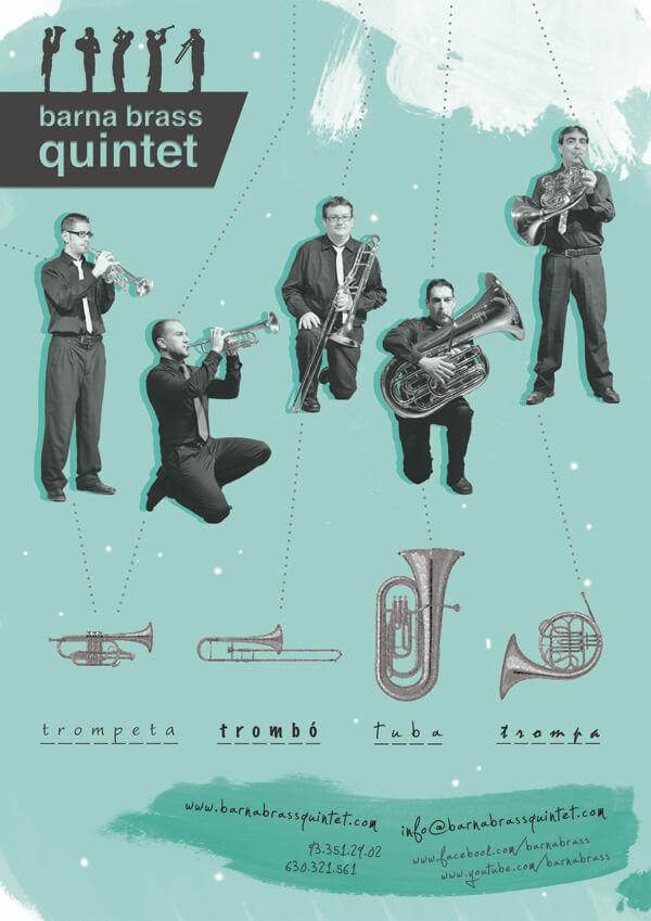 poster barna brass quintet II-WEB